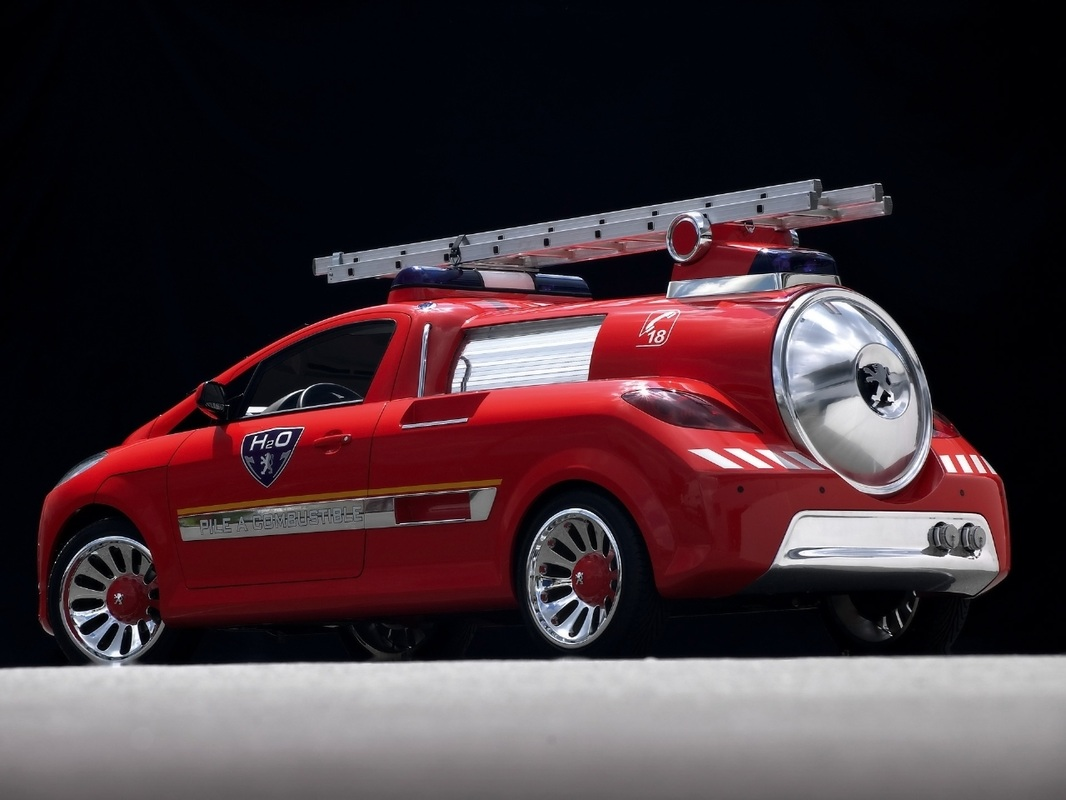 Hydrogen House Project: Peugeot H2O Fire Engine