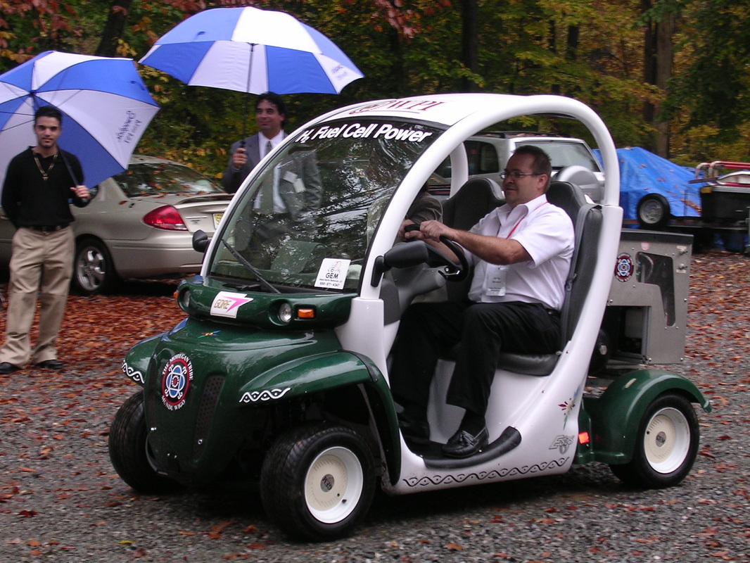 Hydrogen House Project: Fuel Cell Golf Cart on